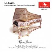 J.S. Bach: Concertos for Harpsichords / Con Gioia