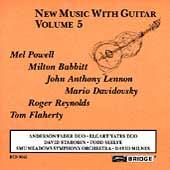 New Music with Guitar Vol 5 / David Starobin
