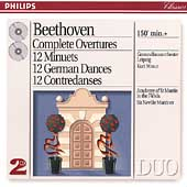 Beethoven: Complete Overtures, etc / Masur, Marriner
