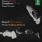 Brahms: Symphony no 2, etc / Barenboim, Chicago SO