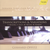Bach - Transcriptions and Variations / Oppitz