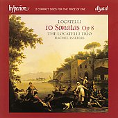 Locatelli: 10 Sonatas Op 8 / Locatelli Trio, Rachel Isserlis