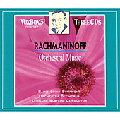Rachmaninoff: Orchestra. Works