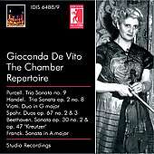Gioconda De Vito Edition Vol 4 / Menuhin, Leppard, et al