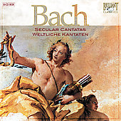 Bach: Secular Cantatas (complete) / Berliner Solisten, et al