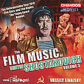 The Film Music of Shostakovich Vol 3