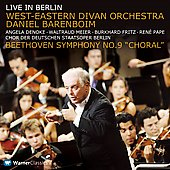 Beethoven: Symphony no 9 / Barenboim, Divan Orchestra, et al