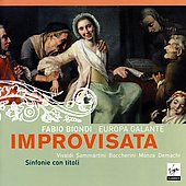 Improvisata / Biondi, Europa Galante