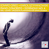 Grieg: Piano Concerto;  Szymanowski / Perl, Leaper, et al