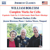 American Classics - William Bolcom: Complete Works for Cello