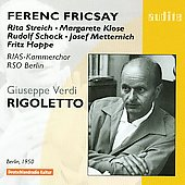 Verdi: Rigoletto / Ferenc Fricsay, et al