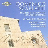 D. Scarlatti: 48 Favourite Sonatas / Richard Lester