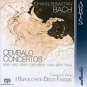 Bach: Harpsichord Concertos / Cera, Fasolis, I Barocchisti