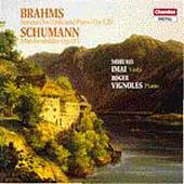 Brahms: Viola Sonatas;  Schumann / Imai, Vignoles