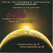 Dvorak: Symphony no 9, Carnival, Scherzo / J&auml;rvi, et al