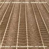 Steve Reich: Steve Reich: Electric Counterpoint; Different Trains