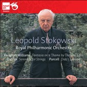 Stokowski conducts Vaughan Williams, Dvorák & Purcell