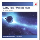 Holst: The Planets, Op. 32, Ravel: Bolero / Orchestre Nat'l de France; Lorin Maazel