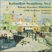 Kalinnikov: Symphony No. 1; Rimsky-Korsakov: Sinfonietta