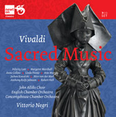 Vivaldi: Sacred Music / Negri/John Alldis Choir