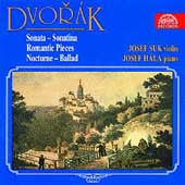 Dvor&#225;k: Sonata, Sonatina, etc / Josef Suk, Josef H&#225;la