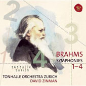 Brahms: Complete Symphonies / David Zinman