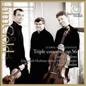Beethoven: Egmont Op. 84; Triple Concerto, Op. 56 / Trio Wanderer