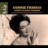 Connie Francis: Eight Classic Albums
