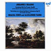 Brahms: Symphony no 3, Schumann Variations / Eden, Tamir