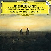 Schumann: Piano Quintet, String Quartet Op 41 no 1 / Hagen