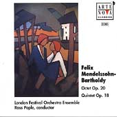 Mendelssohn: Octet Op 20, Quintet Op 18 / Ross Pople, et al
