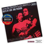 Duets of Love and Passion - Arias by Saint-Saens, Verdi, Bizet, Puccini, Wagner / James McCracken and Sandra Warfield