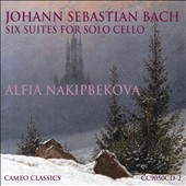 Bach: Six Suites for Solo Cello BWV 1007-1012 / Alfia Nakipbekova, cello