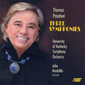 Thomas Pasatieri (b.1945): Three Symphonies / University of Kentucky SO; John Nardolillo