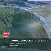 Donald Crockett: Blue Earth; Wedge; Viola Concerto / Kate Vincent, viola; BMOP, Gill Rose
