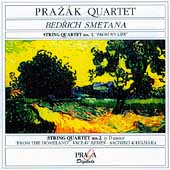 Smetana: String Quartets no 1 & 2, etc / Prazák Quartet
