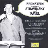 Bernstein conducts Stravinsky and Ravel
