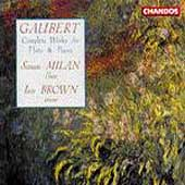 Gaubert: Complete Works for Flute & Piano / Milan, Brown