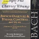 Edition Bachakademie Vol 108 - Italian Concerto, etc