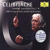 Celibidache Edition - Brahms: Symphonies 1-4 / Stuttgart