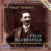 Blumenfeld: Preludes & Impromptus / Philip Thomson