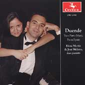 Duende: Two-Piano Music from Spain - Soler, Rodrigo, Infante,  etc / Elena Martin, José Meliton, pianists