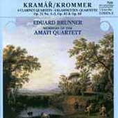 Krommer: Clarinet Quartets / Brunner, Amati Quartet members