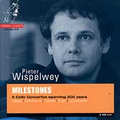 Milestones - 6 Cello Concertos / Peter Wispelwey, et al