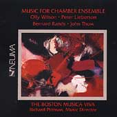 Music for Chamber Ensemble / Pittman, Boston Musica Viva
