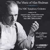 The Music of Alan Shulman / Antek, Bernstein, NBC SO, et al