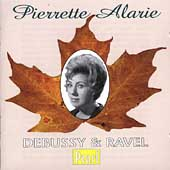 Pierette Alarie - Debussy & Ravel