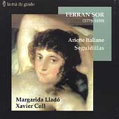 F. Sor: Vocal Music / Margarida Lladó