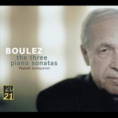 20/21 - Boulez: The Three Piano Sonatas / Paavali Jumppanen