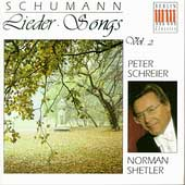 Schumann: Songs Vol 2 / Peter Schreier, Norman Shetler